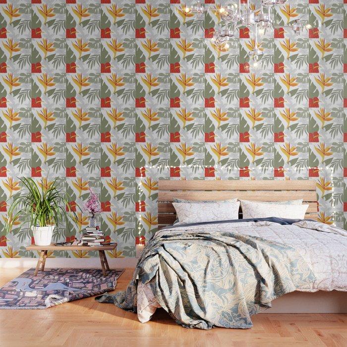 tiki wallpaper