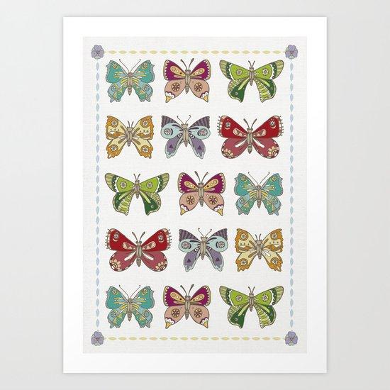 Butterfly butterfly Art Print