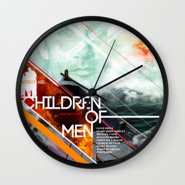 Visions of the Future :: Children of Men Wall Clock