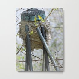 Chime of the Bees Metal Print