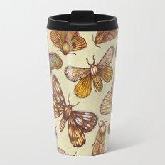 Moth Pattern Travel Mug
