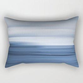 Under a Deep Blue Sky Rectangular Pillow