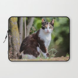 Are you meowing to me? Laptop Sleeve