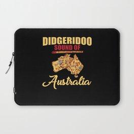 Didgeridoo Sound Of Australia Gift Laptop Sleeve
