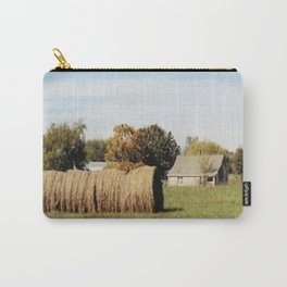 Rolled Hay Carry-All Pouch