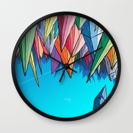 Icebergs Wall Clock
