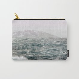 The Ocean in Winter Carry-All Pouch