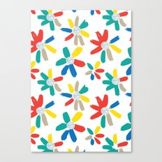 Floral Jewels Canvas Print