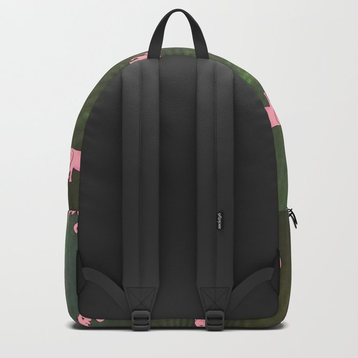elephants on an abstract background 3 Backpack