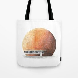 Montreal's Orange Julep Tote Bag