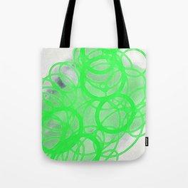 green circles Tote Bag