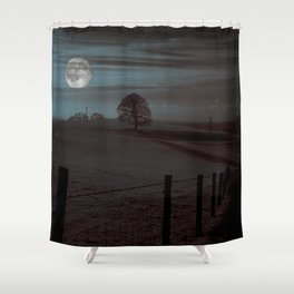 Moon Tor Shower Curtain
