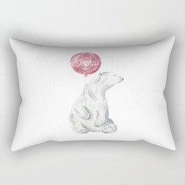 Polar Bear - Emma Rectangular Pillow