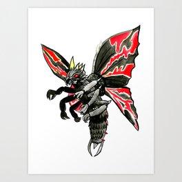 Battra Art Print