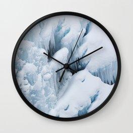 Ice Flow Wall Clock