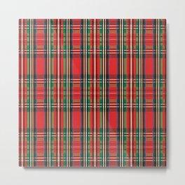 Scottish Plaid Metal Print
