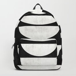 Mid-Century Modern Pattern No.8 - Concrete Backpack