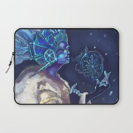Snow Queen and a SnowFlake Laptop Sleeve