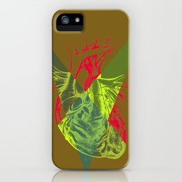 The geometry of the heart iPhone Case