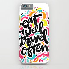 EAT & TRAVEL iPhone 6s Slim Case