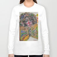 clown Long Sleeve T-shirts featuring CLOWN  by Loosso