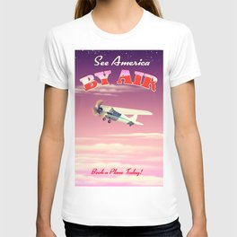 See America By Air Sunset Edition T-shirt