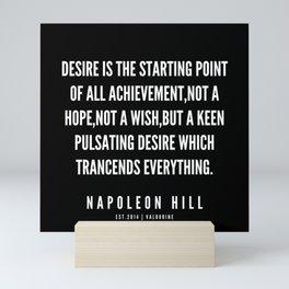 41  | Napoleon Hill Quote Series  | 190614 Mini Art Print