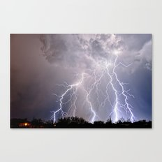 Monsoon Jewel of the Night Canvas Print