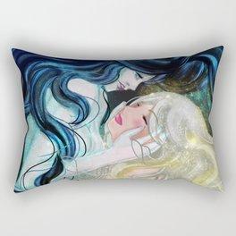Death & Life Rectangular Pillow