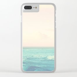 Sea Salt Air Clear iPhone Case