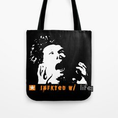 Infkted With Life Tote Bag