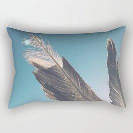 Brown Feathers Rectangular Pillow