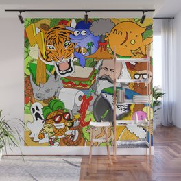 Pop explosion Wall Mural