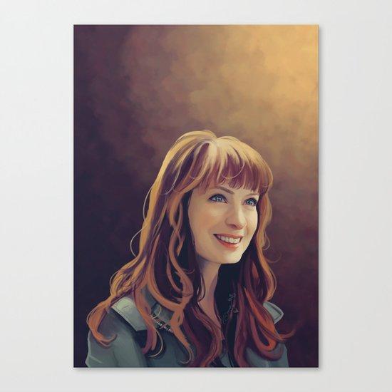 charlie Bardbury - Supernatural Canvas Print