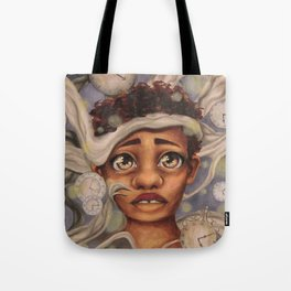 Trapped in a Moment Tote Bag