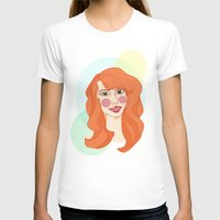 ginger T-shirts featuring ginger by bexchalloner