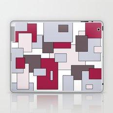 Squares - gray and purple. Laptop & iPad Skin