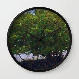 Mangrove Tree Wall Clock