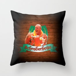 Schraderbräu Throw Pillow