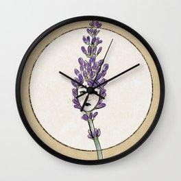 Lavendoll Wall Clock