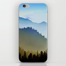 One after another Mountain iPhone & iPod Skin