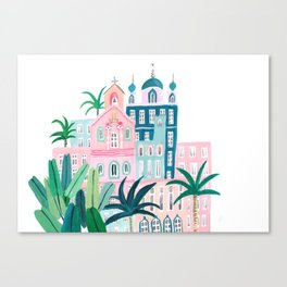 Moroccan houses Canvas Print