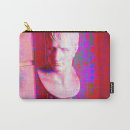 Magenta Bust Carry-All Pouch