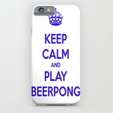 keep calm & play beerpong iPhone 6s Slim Case
