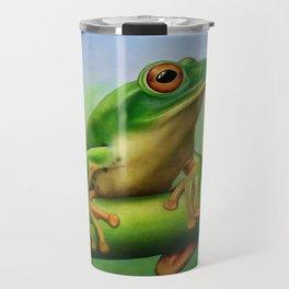 Moltrecht's Green Treefrog Travel Mug