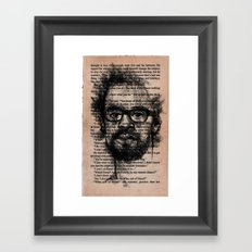 by any remote chance? Framed Art Print