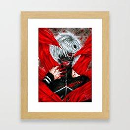 Tokyo Ghoul - Ken Kaneki Framed Art Print