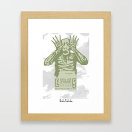 Eyeless Framed Art Print