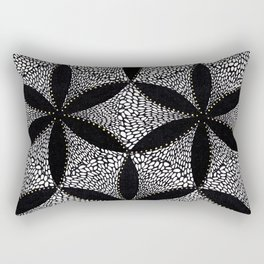 Flwr Rectangular Pillow