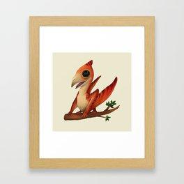 Pterodactilus Framed Art Print